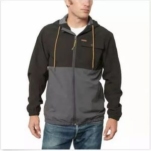 Voyager Windbreaker Light Weight Jacket Gray New